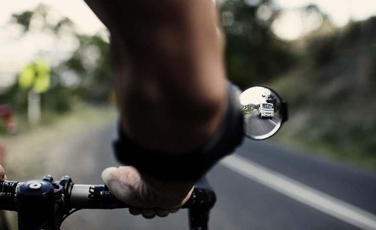 RearViz, retrovisor de brazo para ir en bici