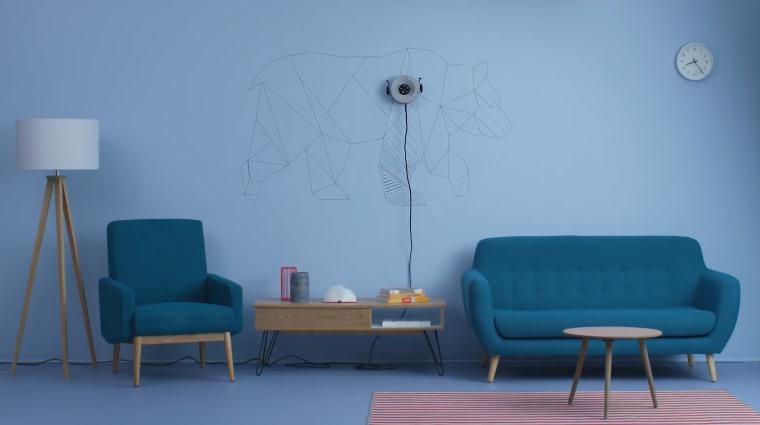 Scribit, robot que dibuja en la pared automaticamente