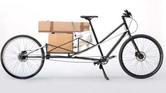 bicicleta eléctrica que puede convertirse en una bicicleta de carga