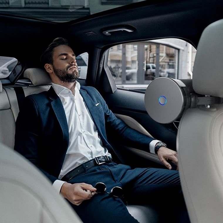 Airbubbl, limpiador de aire para el auto