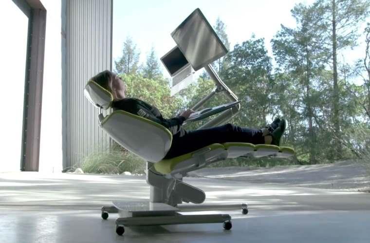 Altwork Station, silla trabajar tumbado