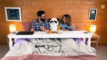 Bedchill, la mejor mesa para la cama