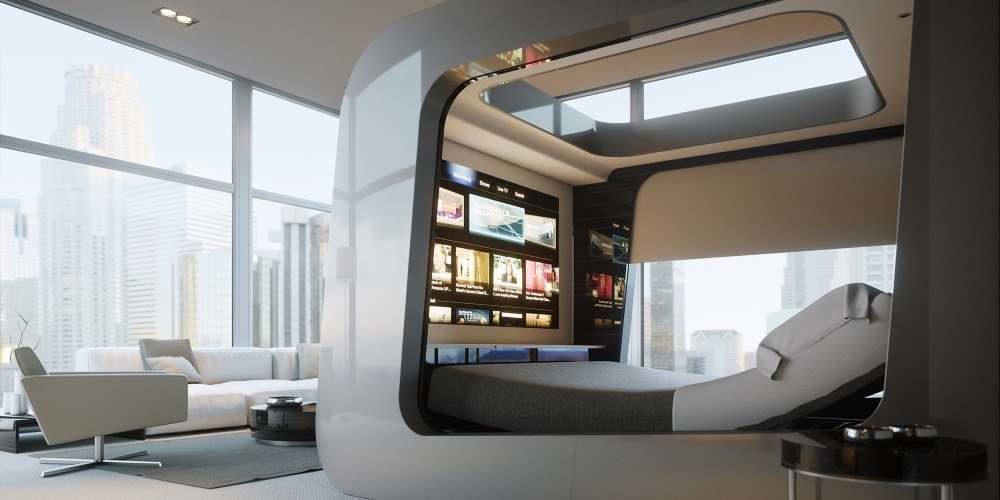 HiCan, cama futurista