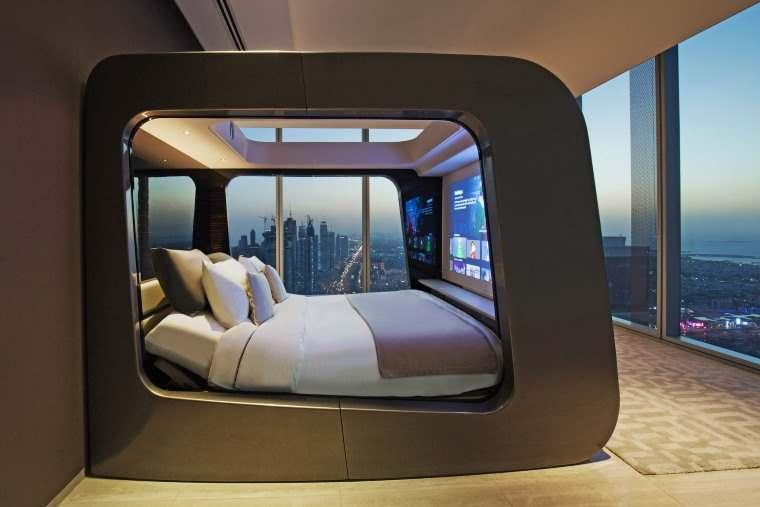 HiCan, la cama futurista que integra completo sistema de entretenimiento