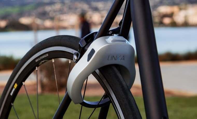 Linka, candado de bicicleta con desbloqueo automatico bluetooth