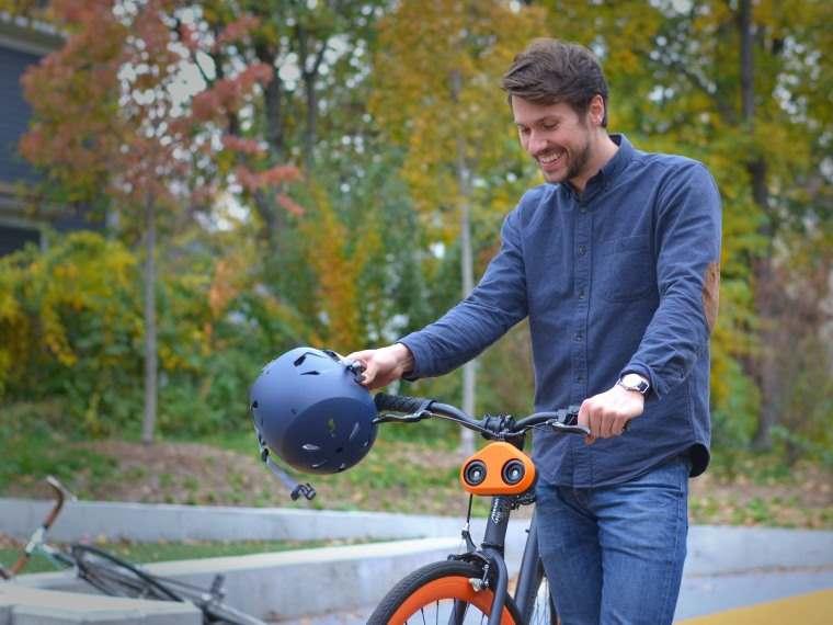 Loud Mini, bocina de bici que suena como la bocina de un coche