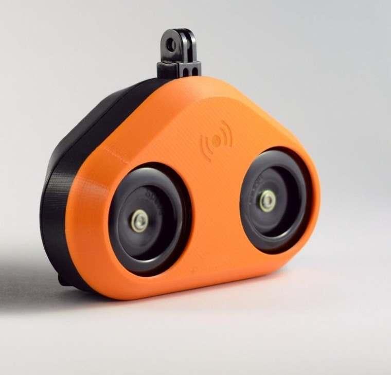 Loud Mini, una bocina para la bicicleta que suena como la bocina de un coche