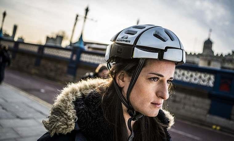 Morpher Flat, casco de bici plegable