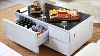 Sobro Cooler Coffee Table, mesa de centro inteligente