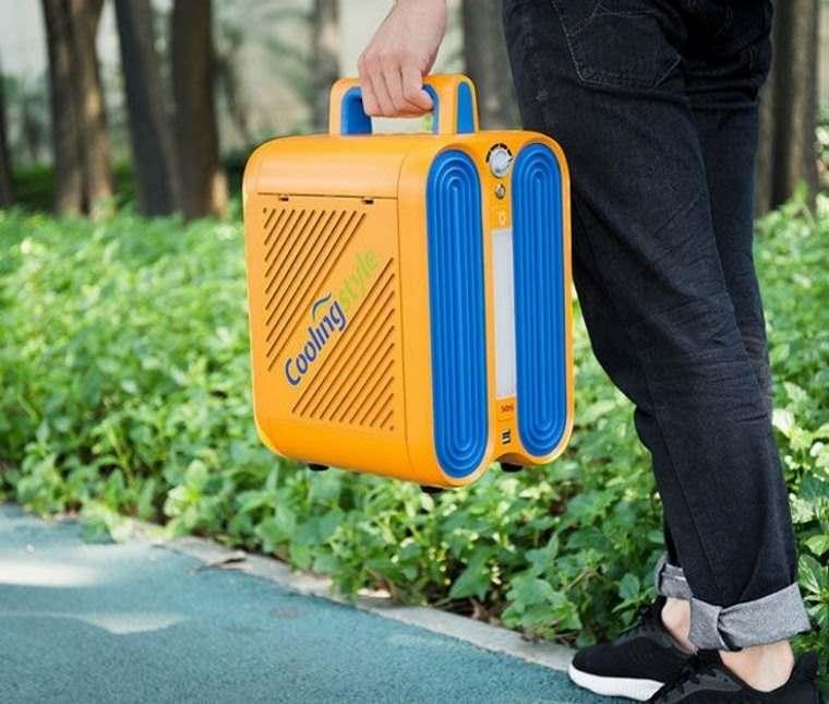 Coolingstyle, acondicionador portatil para acampar