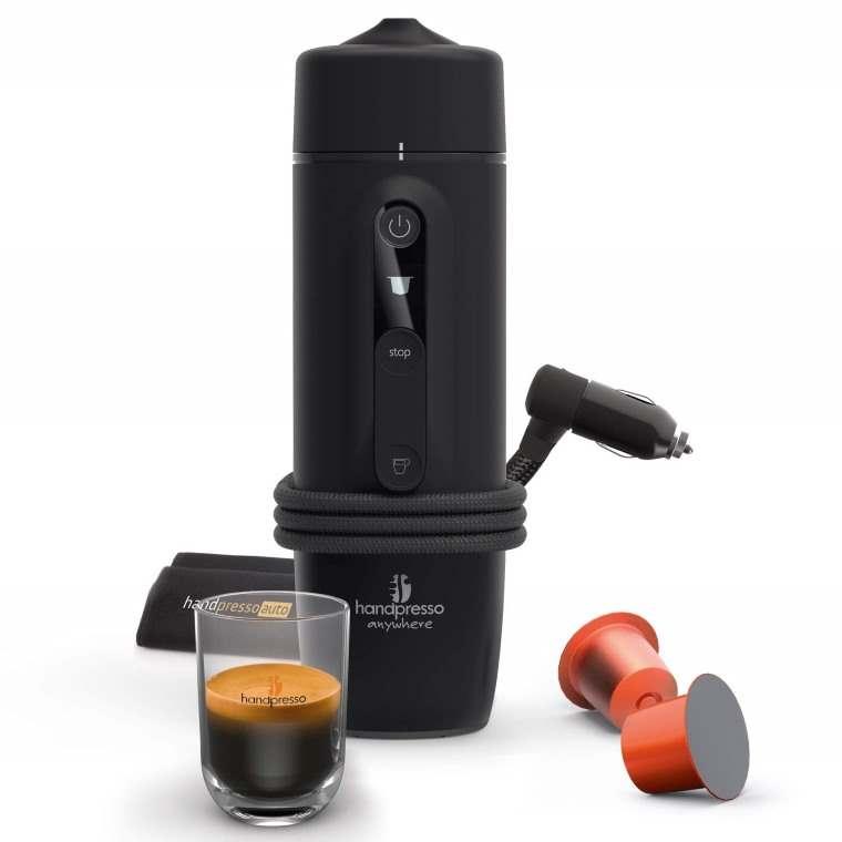 Handpresso Auto Capsule, maquina de cafe expresso para el coche