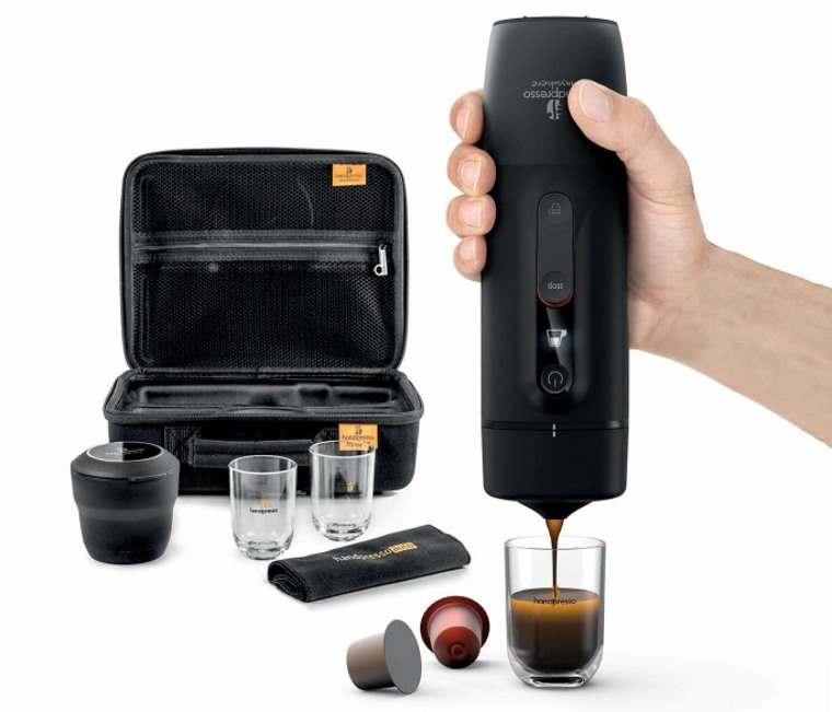 Handpresso, cafetera de capsulas para el auto