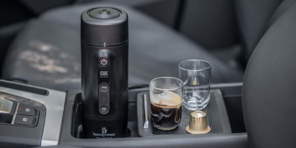 Handpresso, cafetera de capsulas para el coche