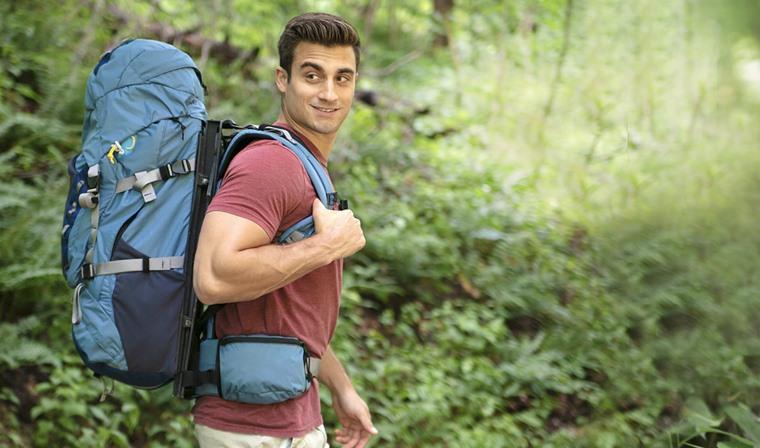 HoverGlide, mochila con rieles para aligerar peso