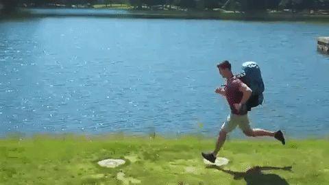 Hoverglide, la mochila que flota en tu espalda