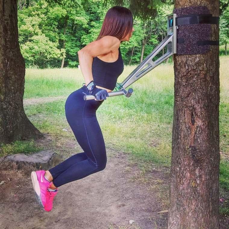 Pullup & Dip, barra de ejercicios para exterior img3