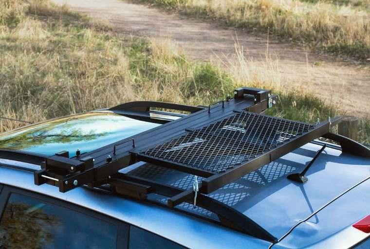 Roof Top Hammock, soporte para instalar hamaca en el techo del SUV