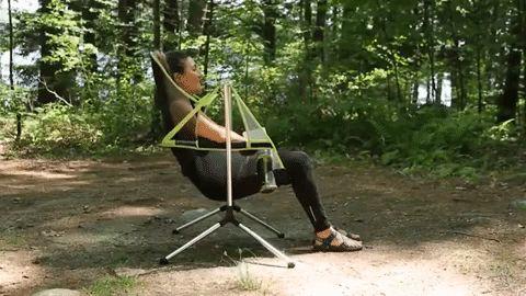 Stargaze Recliner, silla reclinable para acampar