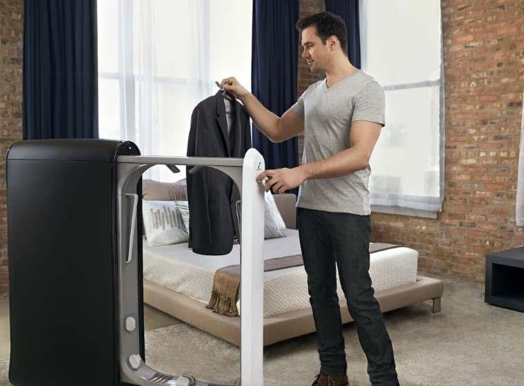 Swash, maquina que plancha la ropa y la perfuma