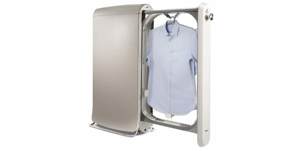 Swash, una maquina que plancha la ropa y la perfuma