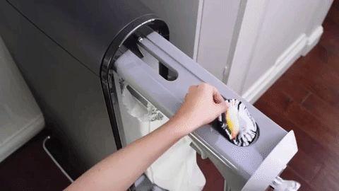 Swash, una maquina que plancha y perfuma la ropa