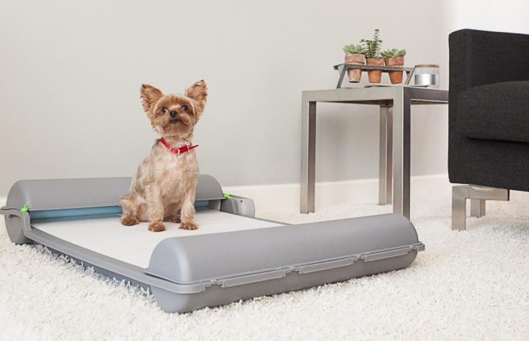 BrilliantPad, el wc inteligente para perros