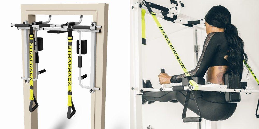 Straprack, maquina de ejercicios marco puerta