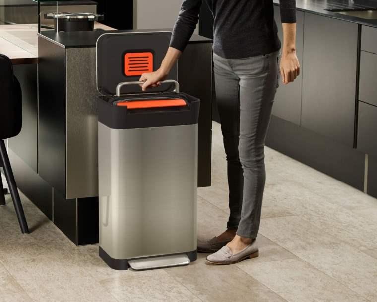 Titan Trash Compactor, cubo de basura para cocina