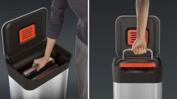 Titan Trash Compactor, el mejor cubo de basura para cocina