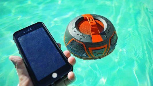 WOW-SOUND, altavoz bluetooth resistente al agua y sonido 360 grados