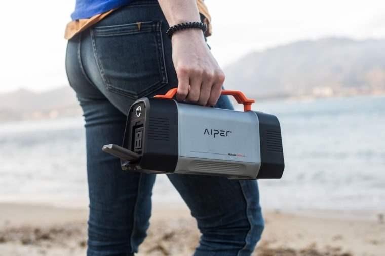 Aiper Flash 150W, estacion portatil de energia para camping