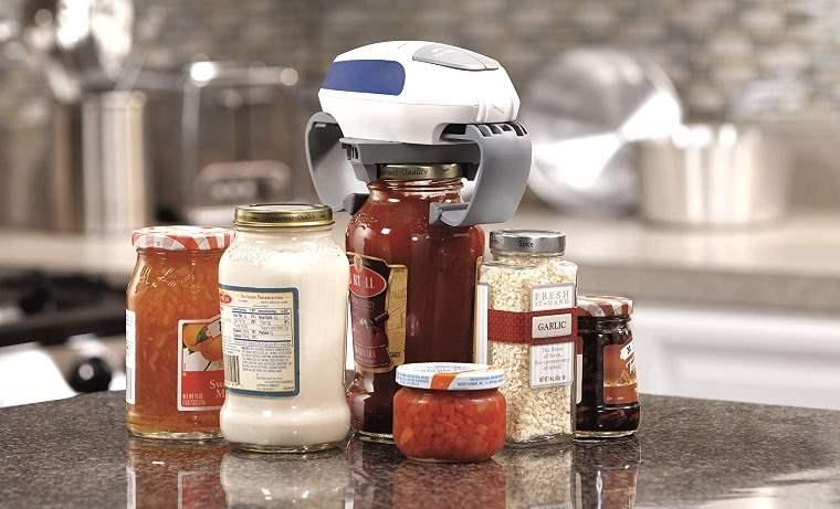Automatic Jar Opener, abre cualquier tarro de cristal automáticamente