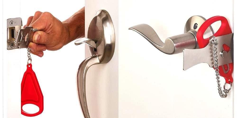 Addalock, cerradura portatil para puertas