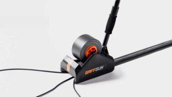 GaffGun, dispositivo para ocultar cables en el suelo