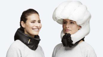 Hövding, casco airbag para la bici