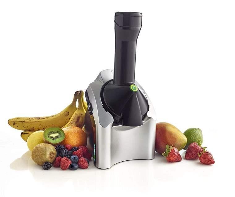 Maquina para convertir frutas en helados