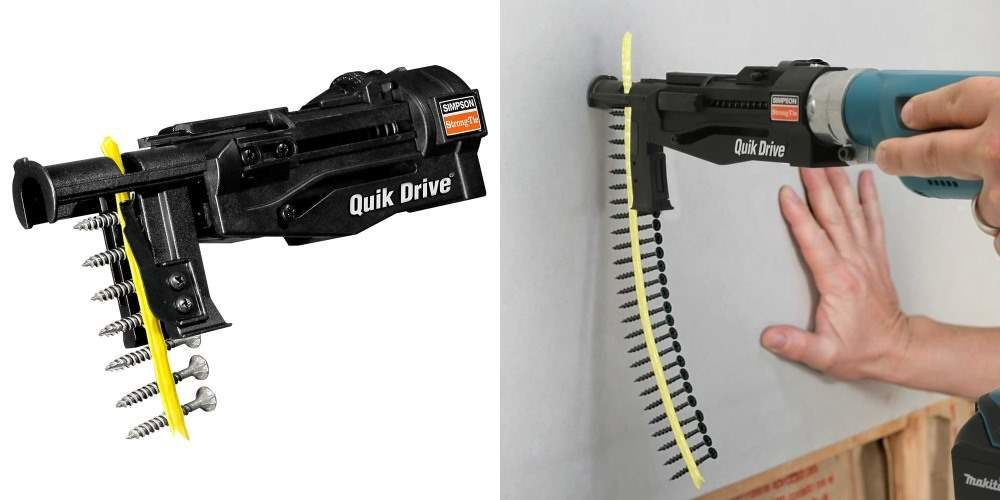 Quik Drive, una herramienta para colocar clavos y tornillos sin esfuerzo