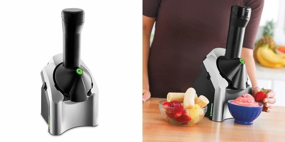 Yonanas, la máquina que permite convertir tu fruta favorita en un helado
