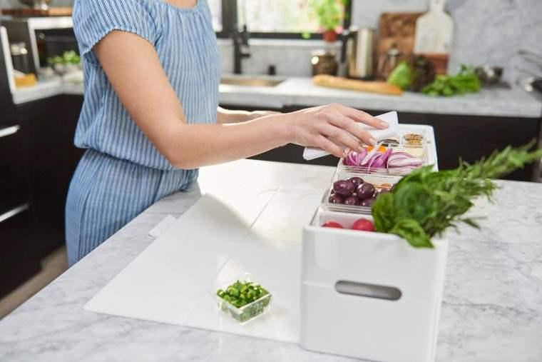 Almacenador de ingredientes para la cocina