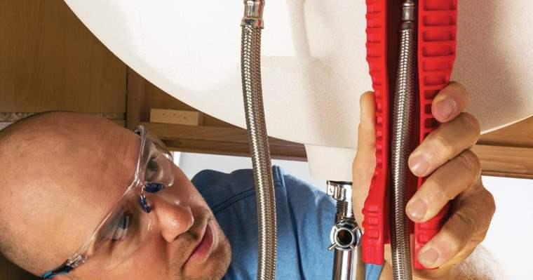 Herramienta para instalar grifos