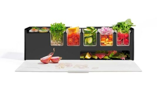 Prepdeck, el organizador de ingredientes todo en uno para tu cocina