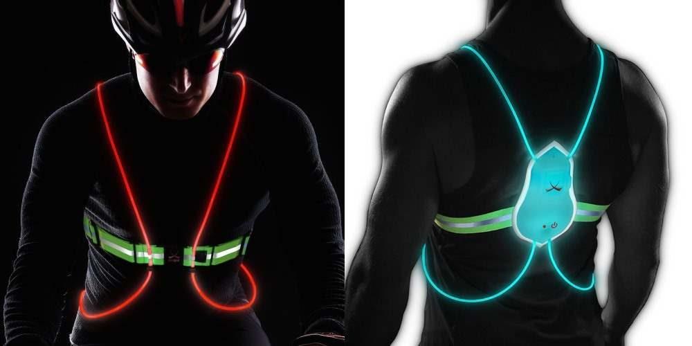 Tracer360, chaleco iluminado para running y ciclism