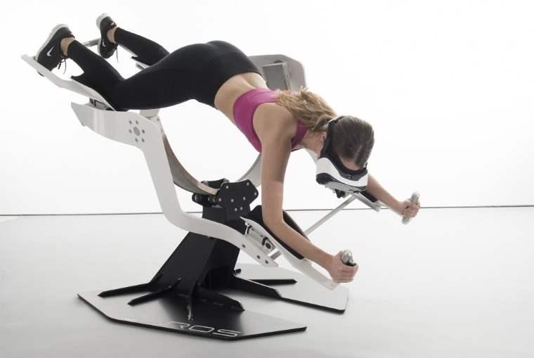 Maquina VR de ejercicios