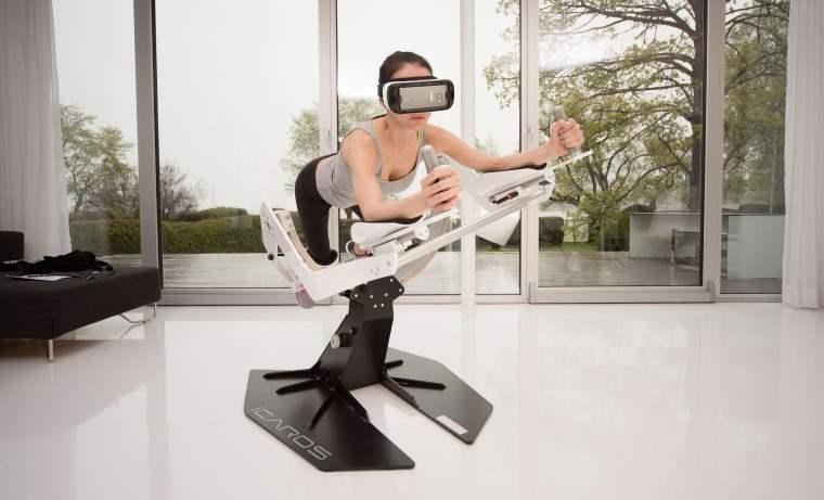 Maquina de realidad virtual para fortalecer el cuerpo