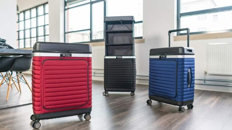 The Pull Up Suitcase
