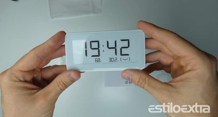 Xiaomi Mijia Hygrometer Clock, reloj con medidor de temperatura y humedad