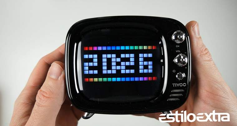Divoom Tivoo, mini altavoz bluetooth de aspecto retro