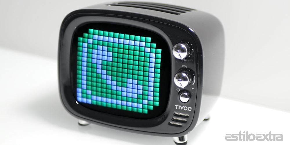 Divoom Tivoo, review completa del mini altavoz de televisor retro