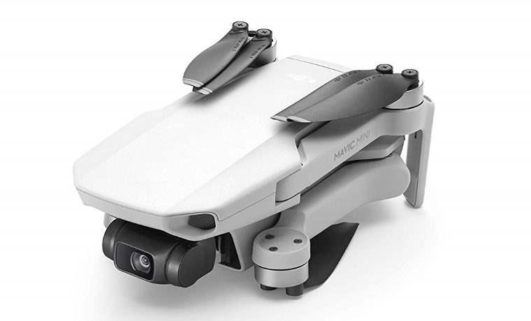 El mini dron plegable de DJI