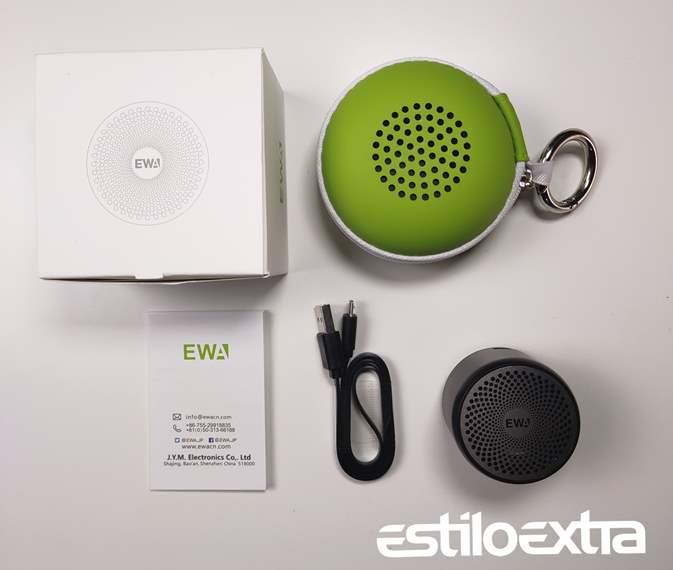 Unboxing del EWA A106